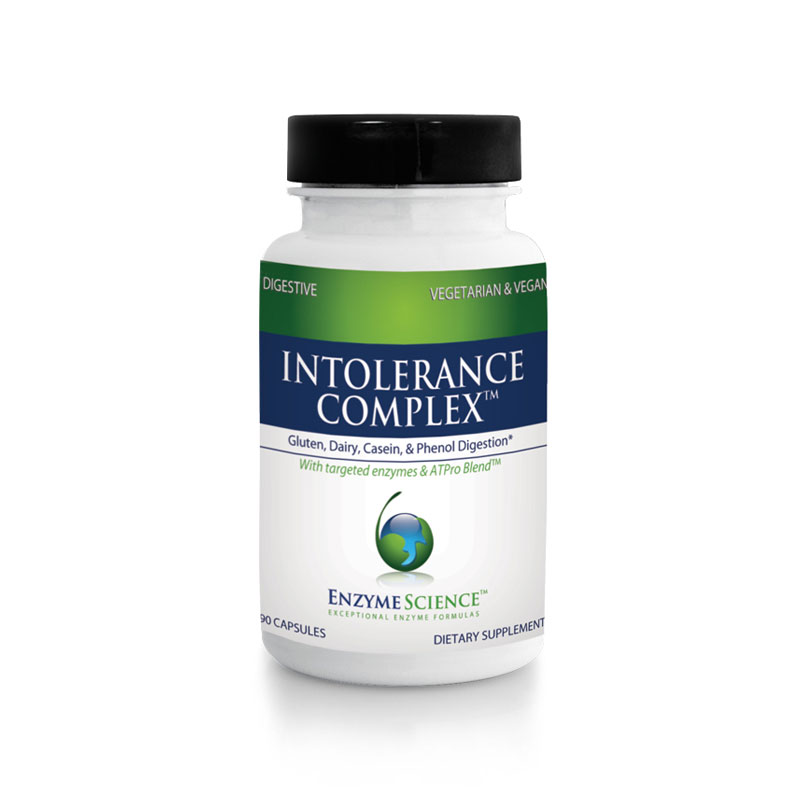 Food intolerance digestive enzymes
