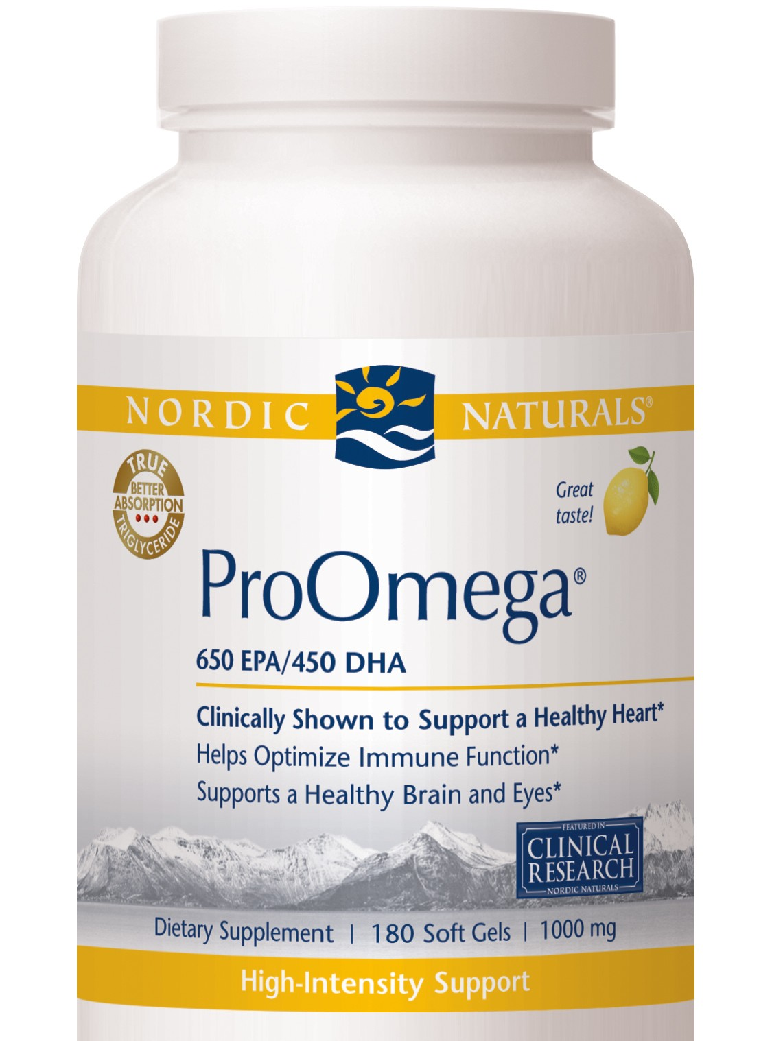 Nordic naturals fish oil proomega omega 3 39 s the for Fish oil nordic naturals