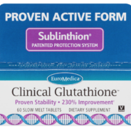 Sublingual Clinical Glutathione Back in Stock