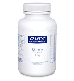 Pure Encapsulations Lithium Orotate